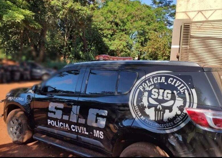 Polícia Civil esclarece homicídio e prende suspeito em flagrante - Crédito: Polícia Civil