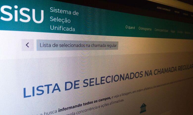 Ministério da Educação divulga hoje resultado do Sisu 2021 - Crédito: Agência Brasil