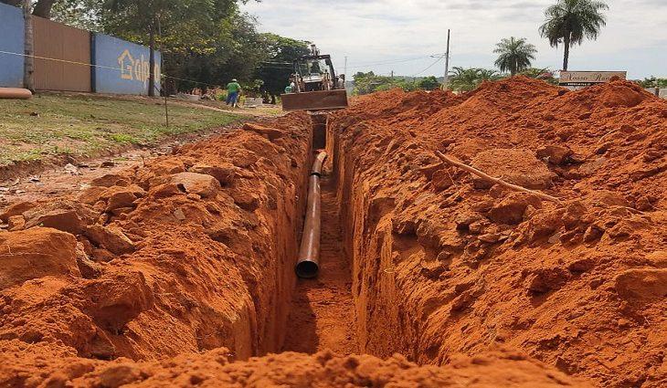 Com Programa Avançar Cidades, Sanesul leva saneamento para milhares famílias de Rio Verde - Crédito: Arquivo Sanesul