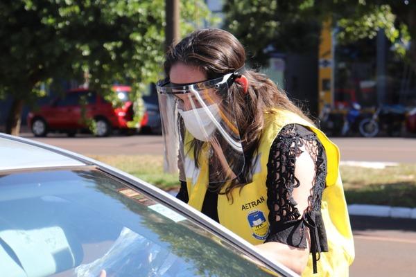 Agetran faz cerca de 400 abordagens na primeira blitz do Maio Amarelo - Crédito: Divulgação