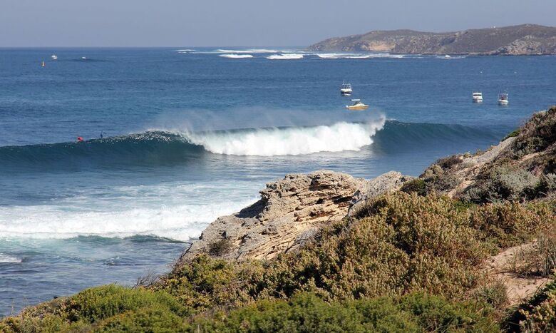 Circuito Mundial de Surfe chega à ilha australiana de Rottnest - Crédito: Majeks/World Surf League via Getty Images