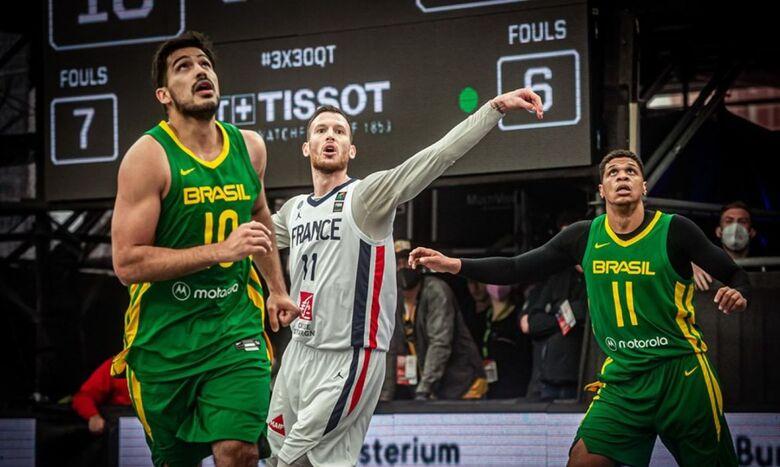 Basquete 3x3: Brasil perde para França no VAR e dá adeus a Tóquio 2020 - Crédito: Divulgação/FIBA