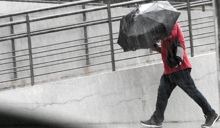 Chuva se espalha por todo Mato Grosso do Sul neste sábado -