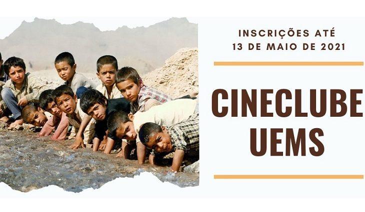 Projeto Cine Clube UEMS está com inscrições abertas - Crédito: Divulgação