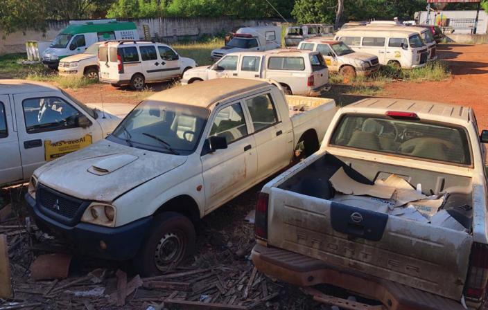 Ambulâncias viram sucatas e indígenas denunciam omissão - Crédito: Divulgação