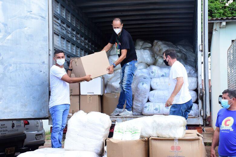 Presença do Estado está na implantação de novos leitos, equipamentos e EPIs - Crédito: Charles Aparecido