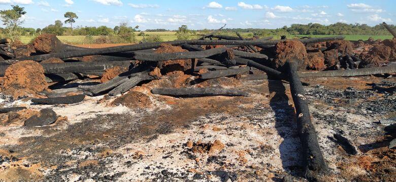 PMA de Dourados multa homem em R$ 15 mil por incêndio em vegetação nativa - Crédito: Divulgação/PMA