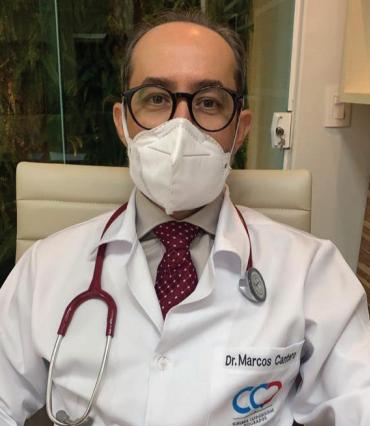 Cirurgião cardiovascular Dr. Marcos Antonio Cantero - Crédito: Divulgação