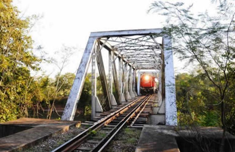 A ferrovia Malha Oeste passará por São Paulo e Mato Grosso do Sul - Crédito: Comunicação Semagro