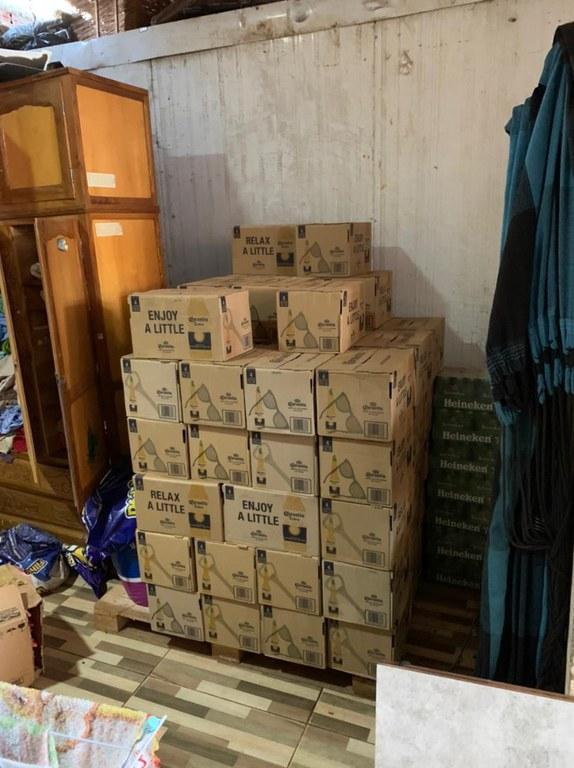 Operação Sabazius visa o fim do esquema de contrabando de bebidas alcoólicas - Crédito: Polícia Federal