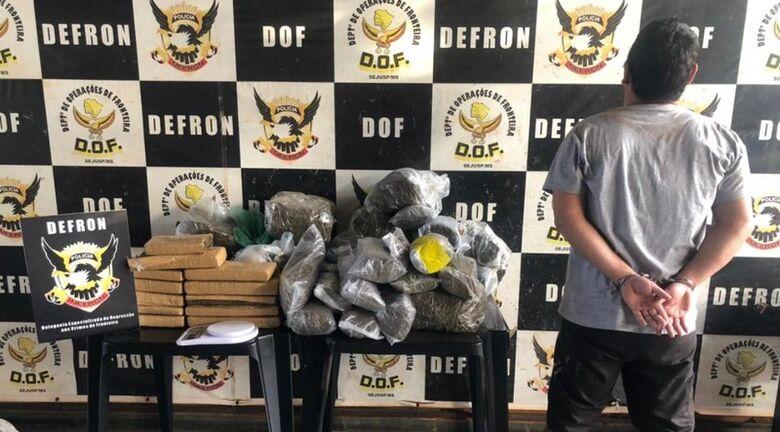 Defron prende traficante considerado o maior fornecedor de Skunk em Dourados -