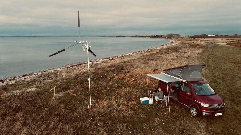 Turbina eólica portátil permite gerar energia em qualquer lugar -