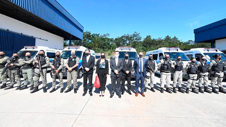 A distribuição das viaturas foi definida conforme a demanda indicada pelos estados e DF - - Crédito: Ministério da Justiça e Segurança Pública