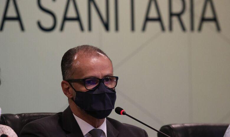 Presidente da Anvisa apela à população que tome segunda dose da vacina - Crédito: Fabio Rodrigues Pozzebom/Agência Brasil