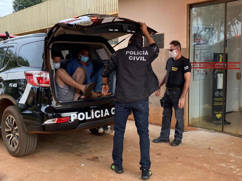 Dois homens são presos por estupro de adolescentes em Ivinhema - Crédito: Ivinotícias