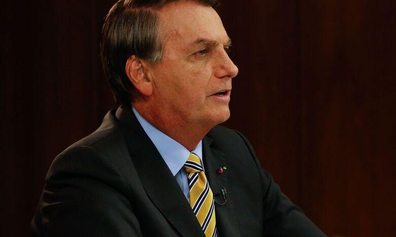 Brasil faz parte de elite que produz vacina, diz Bolsonaro - Crédito: Anderson Riedel/PR