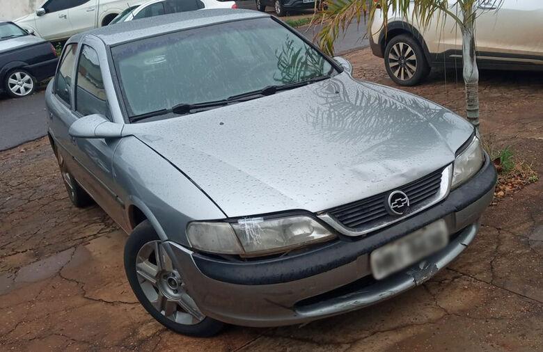 Veículo usado pelo acusado durante o acidente - Crédito: Cido Costa