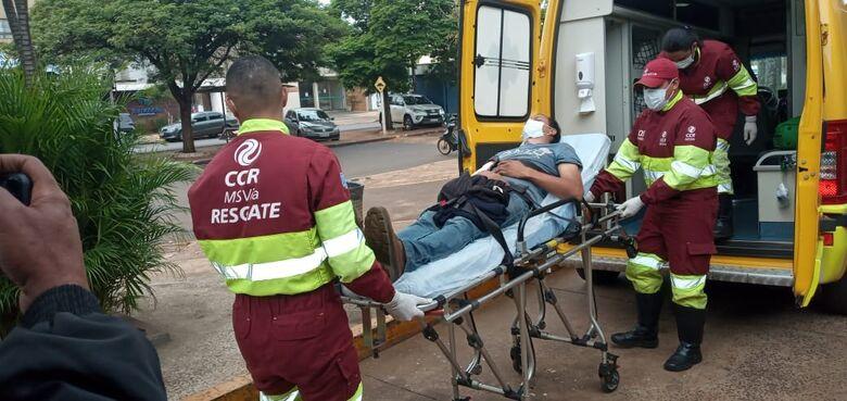 Homem é baleado durante tentativa de assalto em Dourados - Crédito: Cido Costa