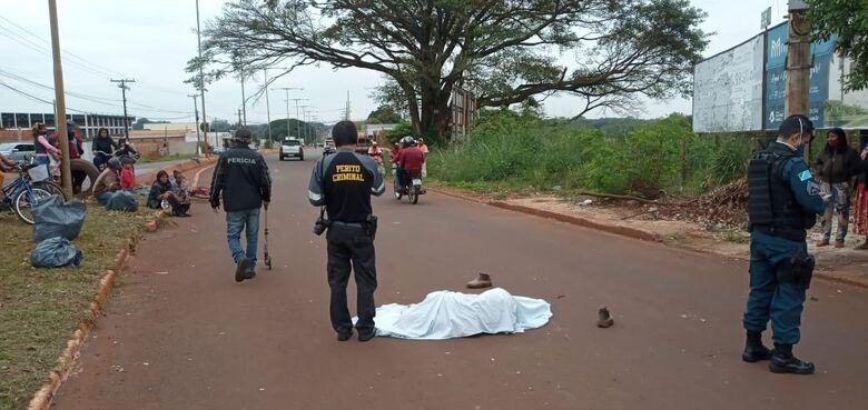 Jovem morre atropelado na Presidente Vargas; motorista foge - Crédito: Cido Costa