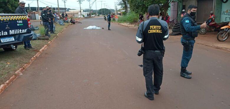 Motorista que atropelou indígena se apresenta à polícia e diz que fugiu por medo - Crédito: Cido Costa