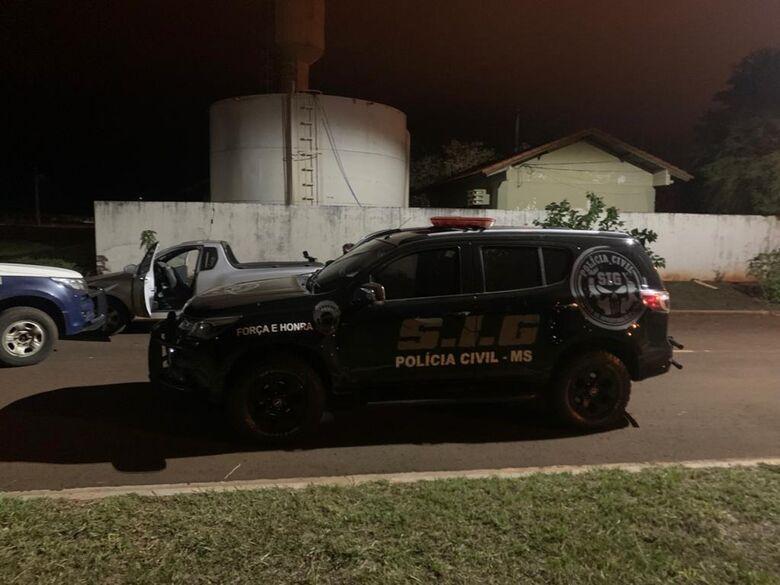 Carro de mulher executada a tiro em Dourados é encontrado em Laguna Carapã - Crédito: Divulgação/PM