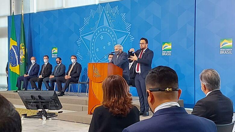 Secretário de Segurança participa em Brasília do Fórum Sobre Proteção Integrada de Fronteiras e Divisas - Crédito: Divulgação