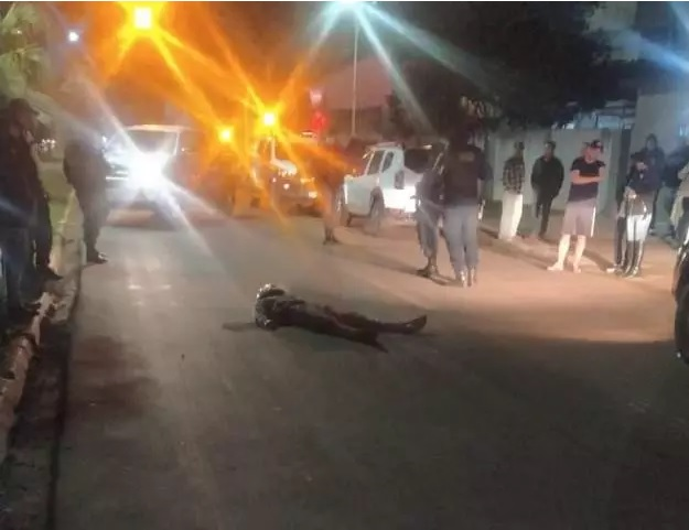 Policial reage a assalto e bandido acaba morto em Ponta Porã - Crédito: Ponta Porã Informa