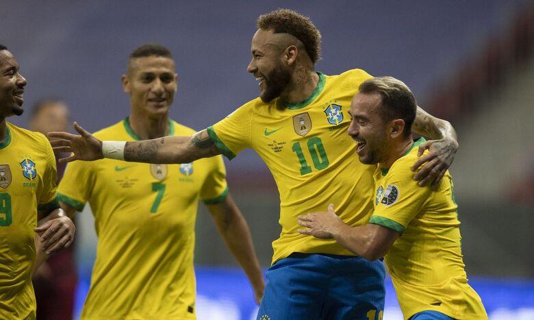 Brasil abre Copa América com boa vitória sobre a Venezuela - Crédito: Lucas Figueiredo/CBF