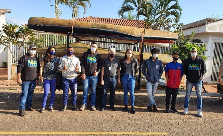 Canoístas de MS disputam Campeonato Brasileiro de Descida Sprint e buscam vaga ao Mundial - Crédito: Divulgação/FCaMS