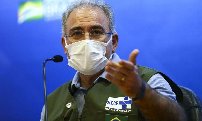 Queiroga anuncia chegada de 3 milhões de doses da vacina Janssen - Crédito: Marcelo Camargo/Agência Brasil