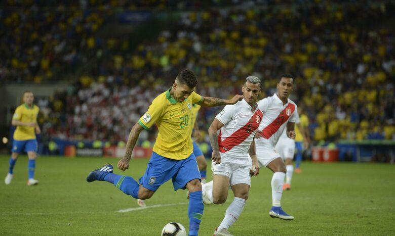 Brasil enfrente seleção peruana no Nilton Santos pela Copa América - Crédito: Fernando Frazão/Agência Brasil