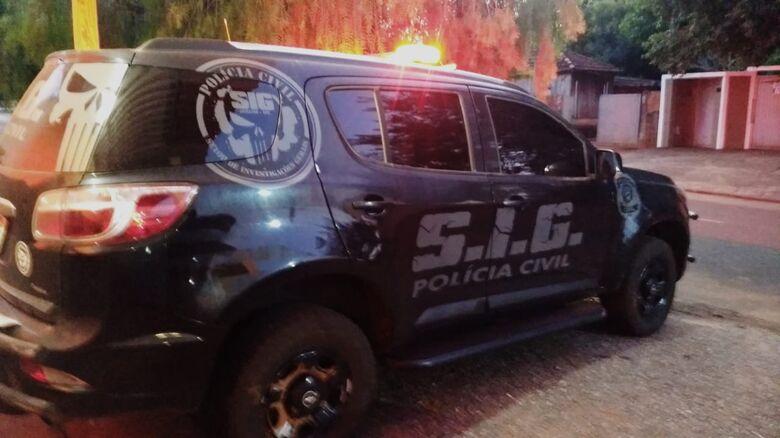 """Polícia prende homem acusado de ameaçar e """"stalkear"""" ex-namorada em Jardim - Crédito: Divulgação/Polícia Civil"""