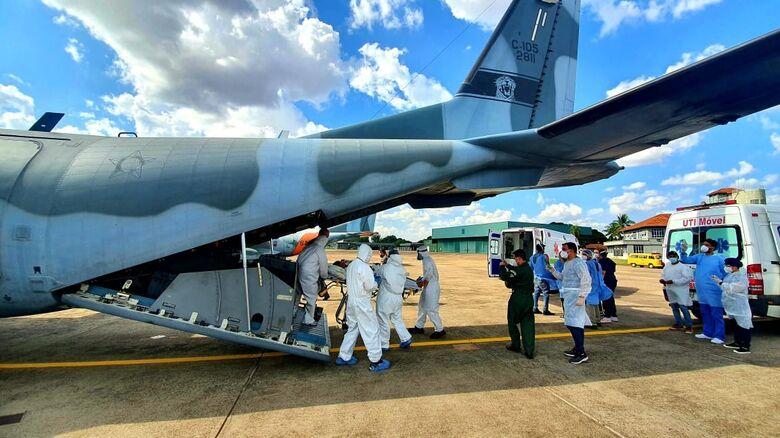 Pacientes de Dourados seguem em voo para tratamento em UTI de Porto Velho  -