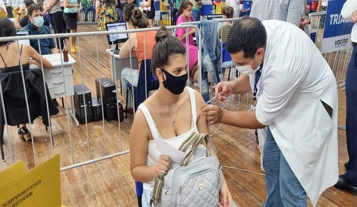 Gestantes a partir de 18 anos, com ou sem comorbidades, poderão ser vacinadas contra Covid-19 em MS - Crédito: Ricardo Minella/SES