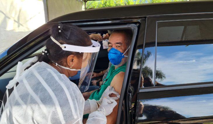 MS ultrapassa um milhão de pessoas vacinadas contra Covid-19 com primeira dose - Crédito: Divulgação