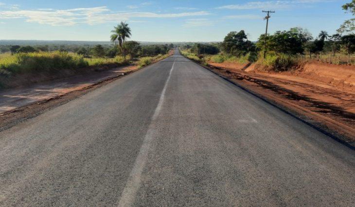 Com obra 40% concluída, pavimentação entre distritos de Coxim é realização de sonho antigo de moradores -