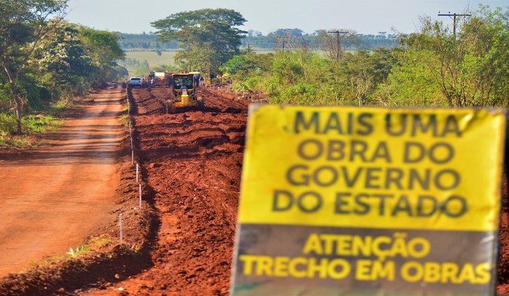 Obra liga perimetral norte até o distrito de Panambi, numa extensão de 7,8 quilômetros - Crédito: Eliel Oliveira
