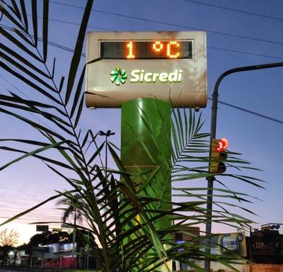 Dourados registrou nesta quinta temperatura mais baixa do ano -