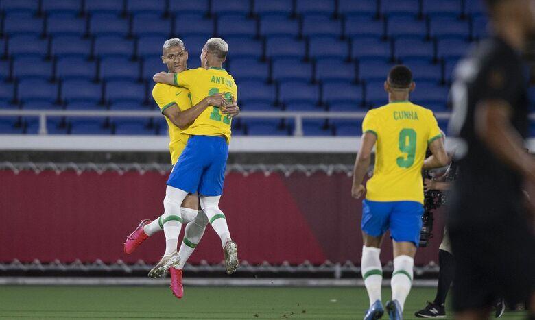 Richarlison brilha e Brasil vence Alemanha na estreia da Olimpíada - Crédito: Lucas Figueiredo/CBF/Direitos Reservados