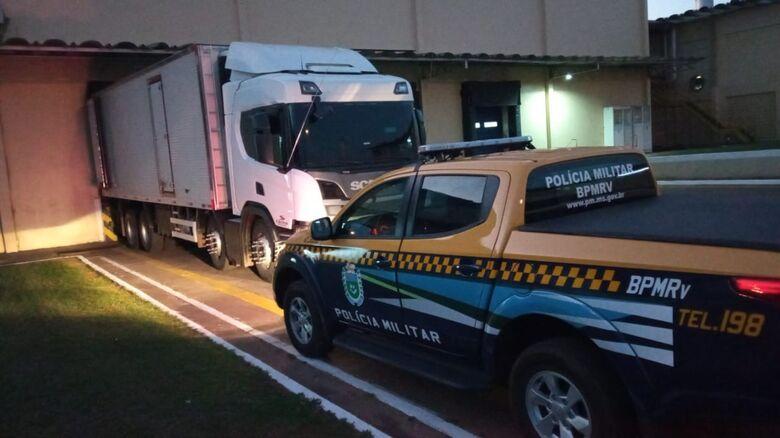Polícia apreende meia tonelada de cocaína em caminhão frigorífico - Crédito: Divulgação