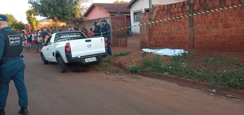 Menino morre atropelado e motorista foge do local - Crédito: Cido Costa