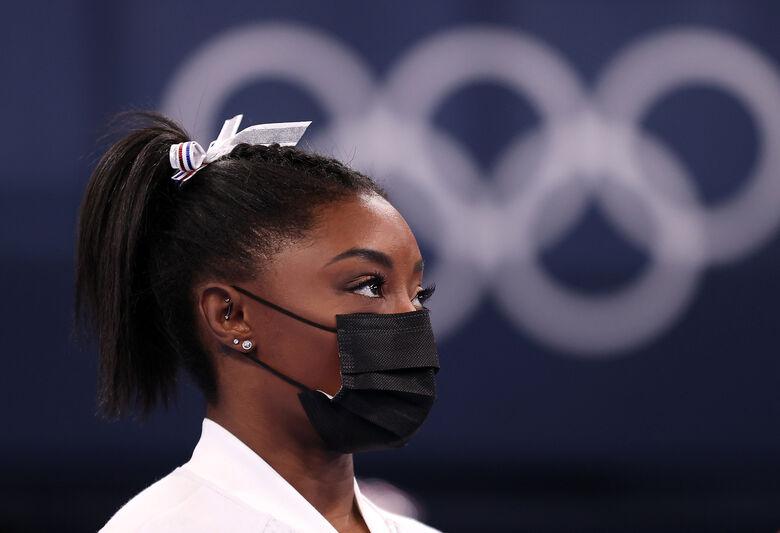 Simone Biles desiste de competição individual geral na Tóquio 2020 - Crédito: Twitter/Jogos Olímpicos