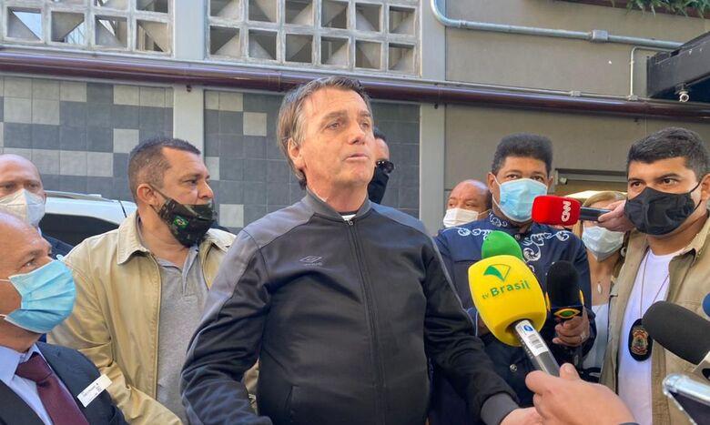 Após alta, presidente diz que se reunirá com ministro da Saúde - Crédito: Annie Zanetti/TV Brasil