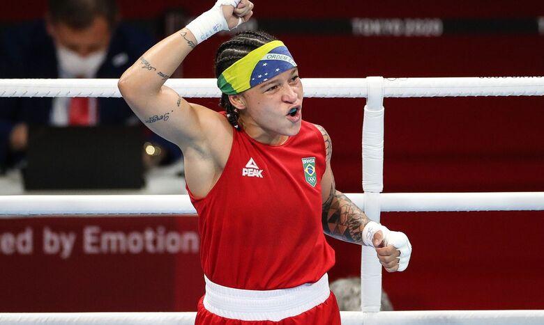 Bia Ferreira sobra na estreia no boxe e avança às quartas em Tóquio - Crédito: Gaspar Nóbrega/COB/Direitos Reservados