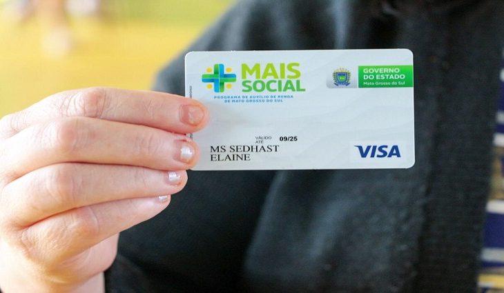 Beneficiários do Mais Social também receberão o cartão do programa pelos Correios - Crédito: Divulgação