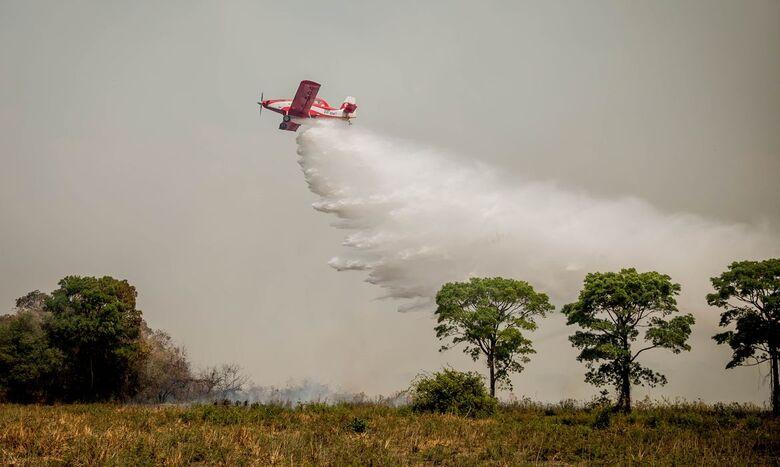 Mato Grosso do Sul reforça as ações para prevenir incêndios - Crédito: Christiano Antonucci /Secom - MT