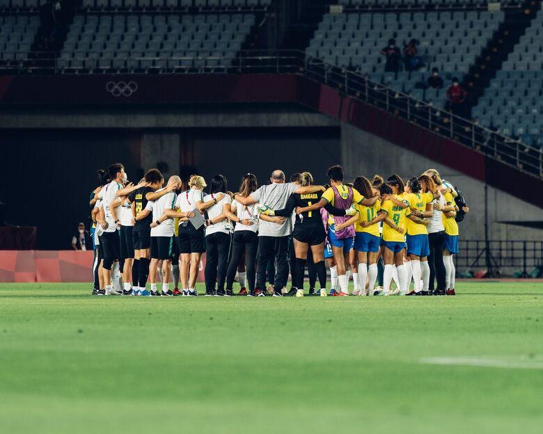 Seleção feminina perde para Canadá nos pênaltis e dá adeus a Tóquio - Crédito: Sam Robles/CBF