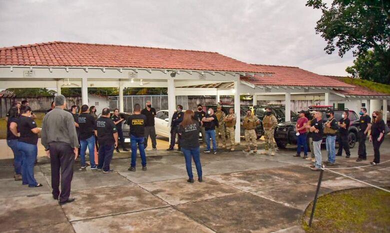 Operação Acalento combate crimes contra crianças em todo o país - Crédito: Divulgação/MJSP