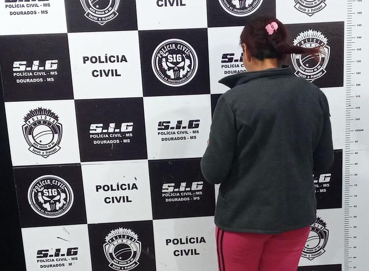Mulher que usava criança para entregar drogas é presa pelo SIG - Crédito: Cido Costa