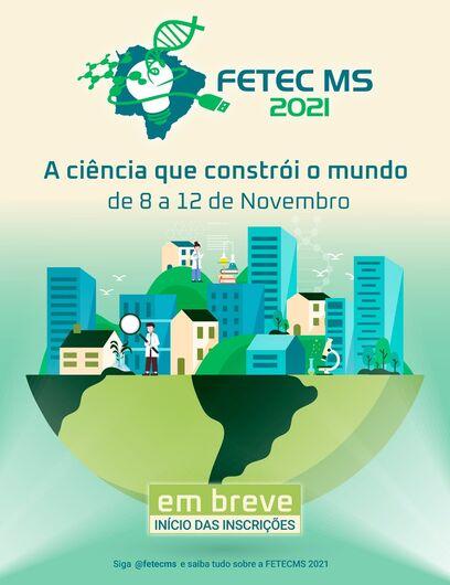 Maior feira científica e tecnológica estudantil do estado: FETECMS divulga as datas da sua XI edição -